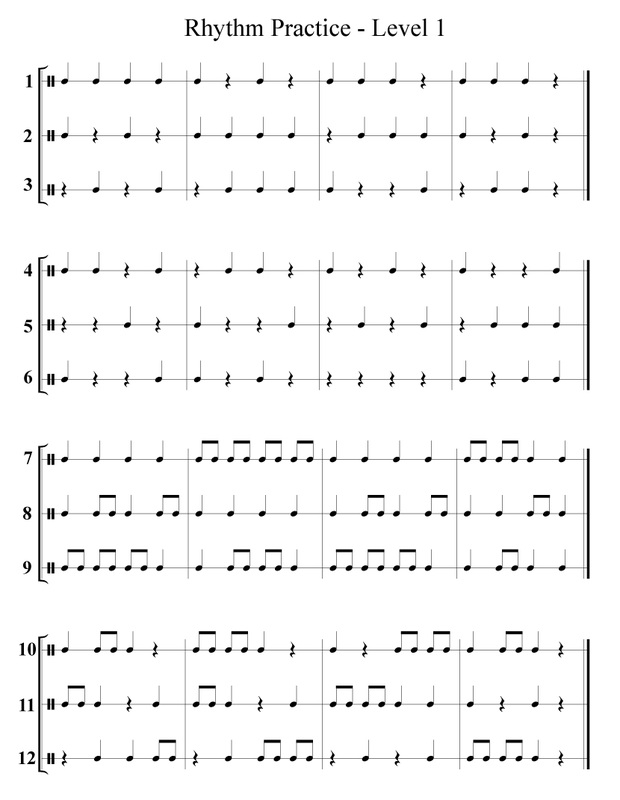 Printables Rhythm Worksheet free band orchestra worksheets rhythm notes note names and practice counting worksheet