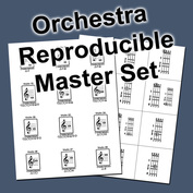 Printable Orchestra Flash Cards