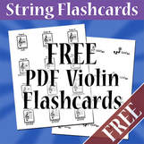 Free Violin Orchestra Flashcards