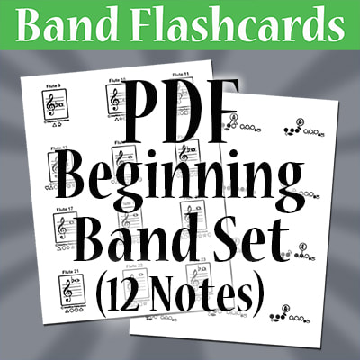Free Flashcards - StepWise Publications: Materials for Band